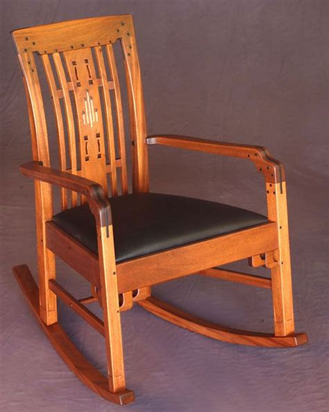 Greene-And-Greene-Rocking-Chair-Plans