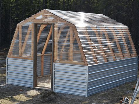 Greenhouse Building Plans Steel