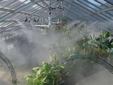 Greenhouse Misting Systems Plans