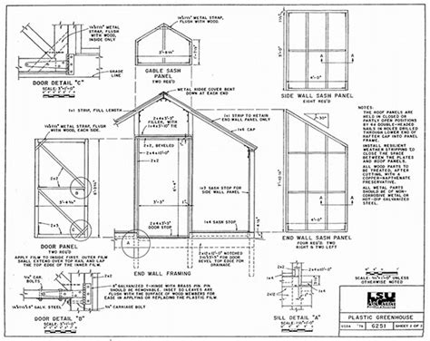 Greenhouse Plans By Lsu Agcenter