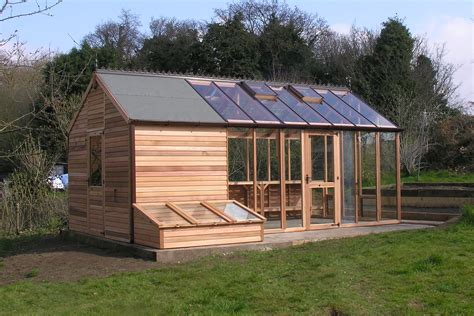 Greenhouse Shed Combo Plans