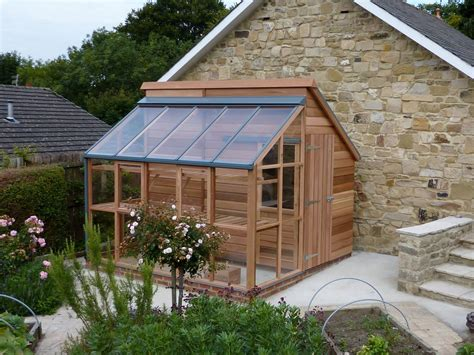 Greenhouse-And-Shed-Combination-Building-Plans