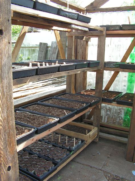 Greenhouse-Shelving-Plans