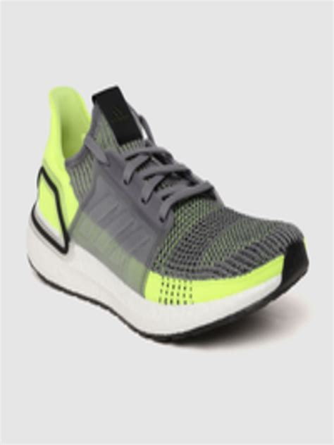 Grey And Green Sneakers For Men Adidas