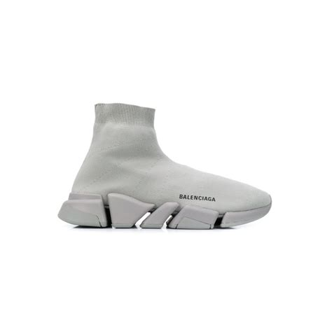 Grey Balenciaga Sock Sneakers