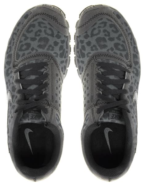 Grey Leopard Nike Sneakers