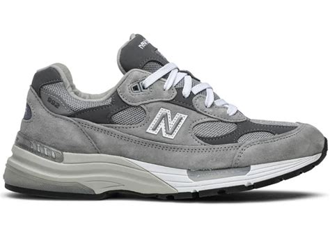 Grey New Balance 992 Sneakers