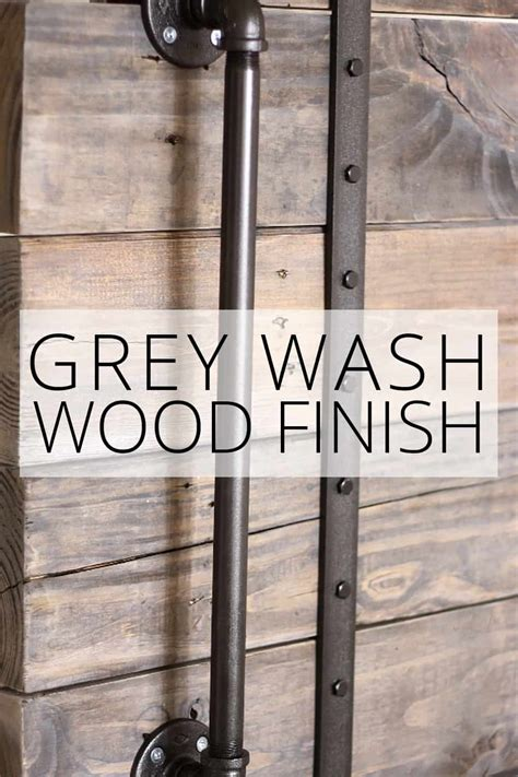 Grey Wash Wood DIY