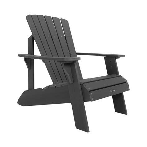 Grey-Lifetime-Adirondack-Chair