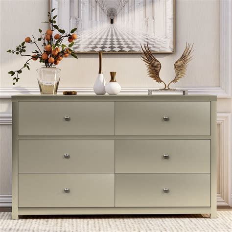 Grigsby 6 Drawer Double Dresser