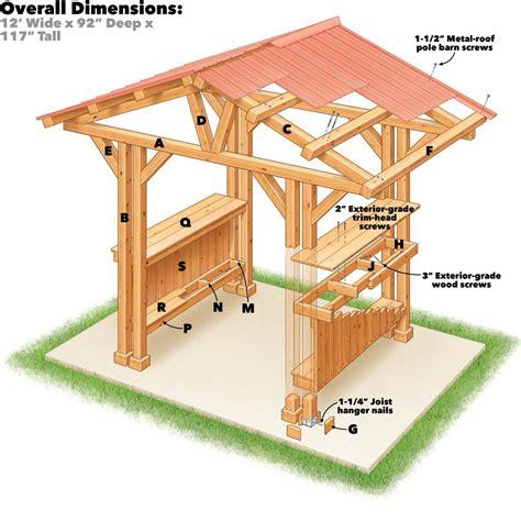 Grill-Gazebo-Building-Plans