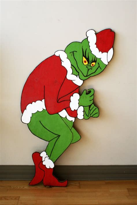 Grinch Yard Cutouts