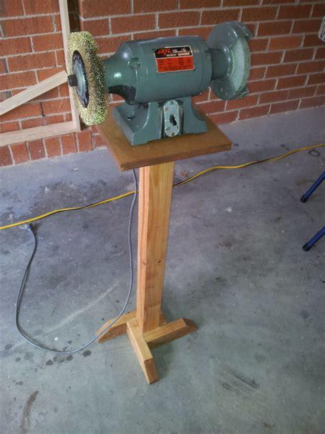 Grinder-Pedestal-Stand-Plans