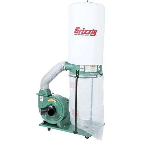 Grizzly Shop Dust Collection Systems