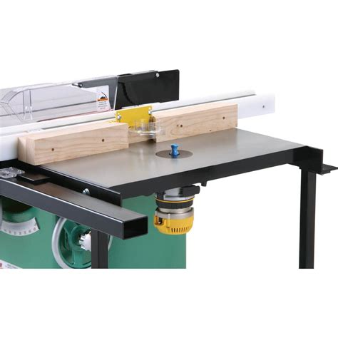 Grizzly Table Saw Router Table