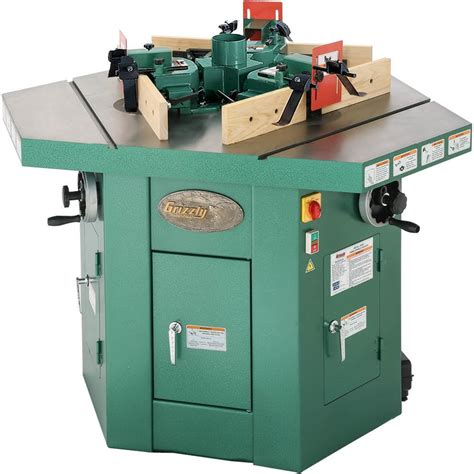 Grizzly Woodworking Shaper