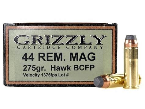 Grizzly Ammo 44 Mag And Recommended Ammo Desert Eagle 44 Mag