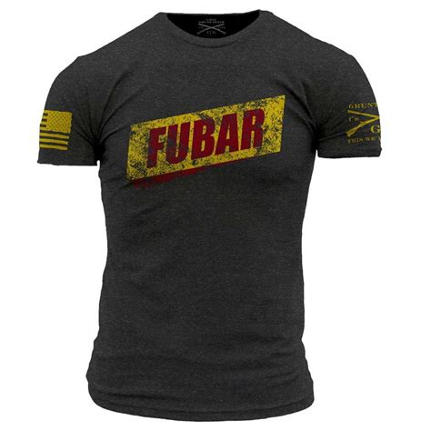 Grunt Style Fubar Shirt And Back To Back World War Champs Grunt Style