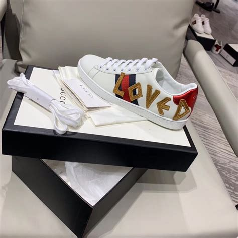 Gucci Ace Embroidered Loved Sneaker