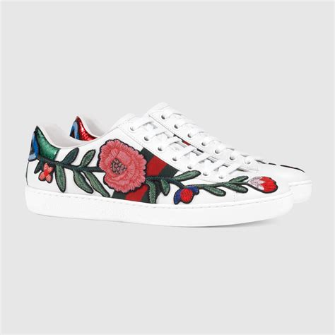 Gucci Ace Embroidered Low Top Sneaker