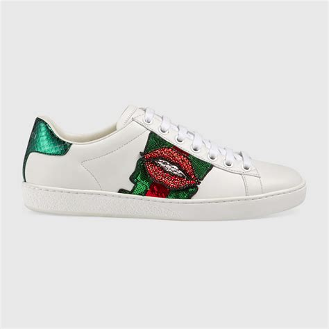 Gucci Ace Embroidered Low Top Sneaker Fake