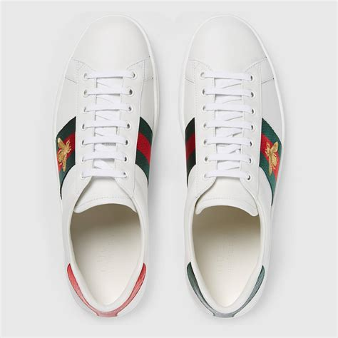 Gucci Ace Embroidered Low Top Sneaker Replica