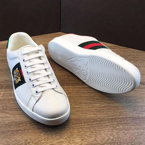 Gucci Ace Embroidered Sneaker Men