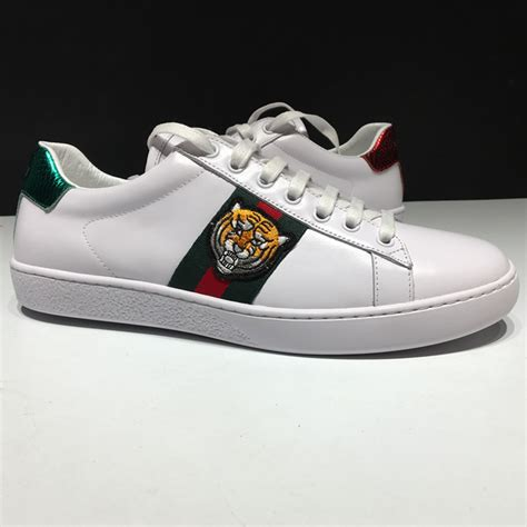 Gucci Ace Embroidered Sneaker Tiger