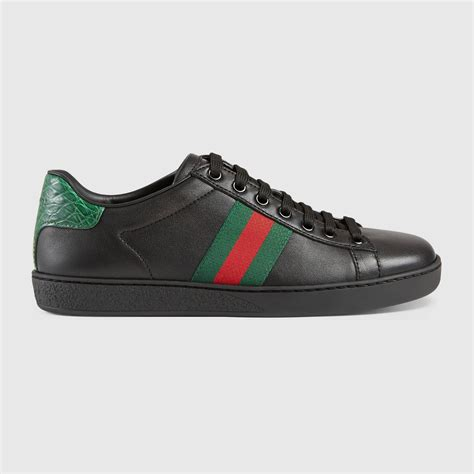 Gucci Ace Leather Low-top Sneaker Uk