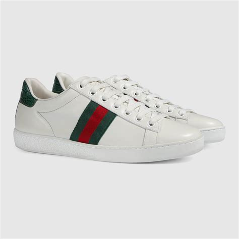 Gucci Ace Leather Sneaker Womens Price