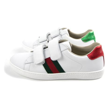 Gucci Ace Leather Sneakers Sale