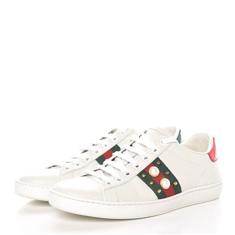 Gucci Ace Pearl Sneakers