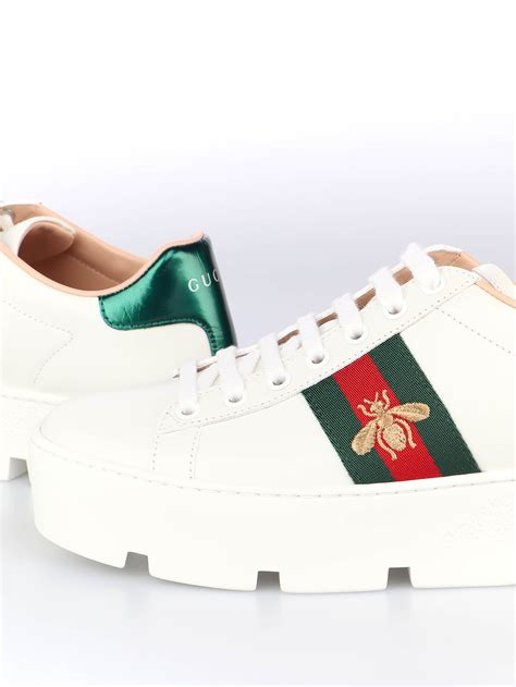 Gucci Ace Platform Sneakers Mens