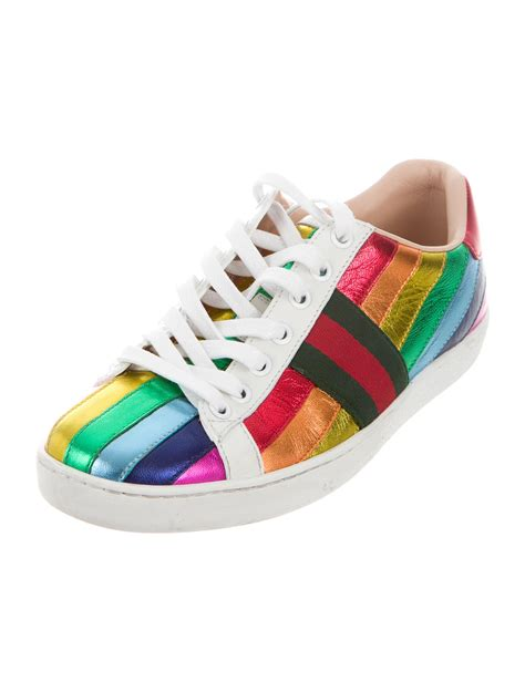 Gucci Ace Rainbow Sneakers