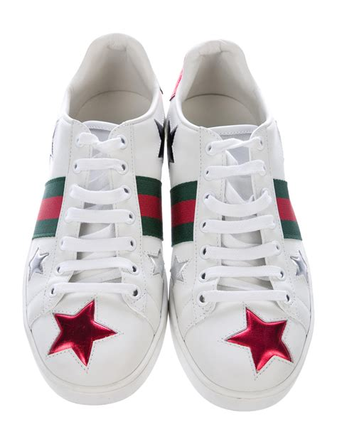 Gucci Ace Sneakers With Stars
