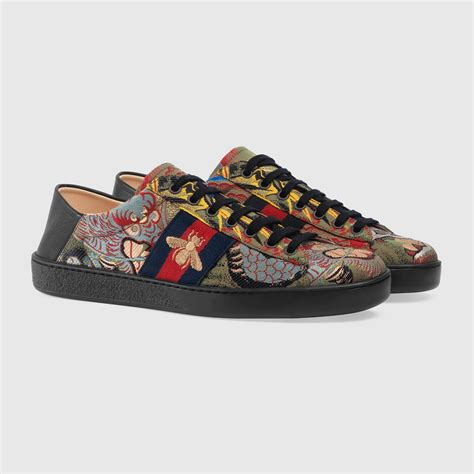 Gucci Ace Tiger Jacquard Sneakers
