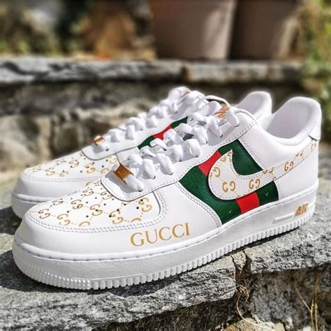 Gucci Air Force 1 Sneakers