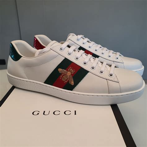 Gucci Bee Web Sneakers