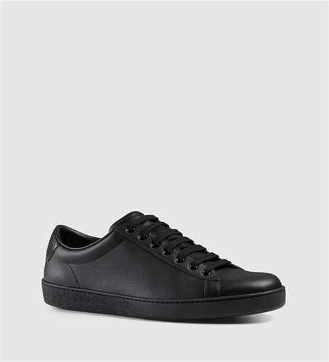 Gucci Black Low Top Sneakers