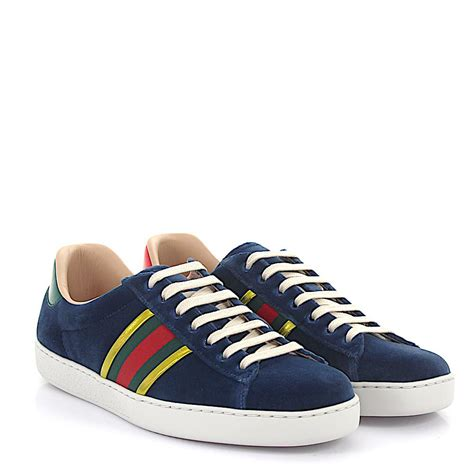 Gucci Blue Ace Sneakers