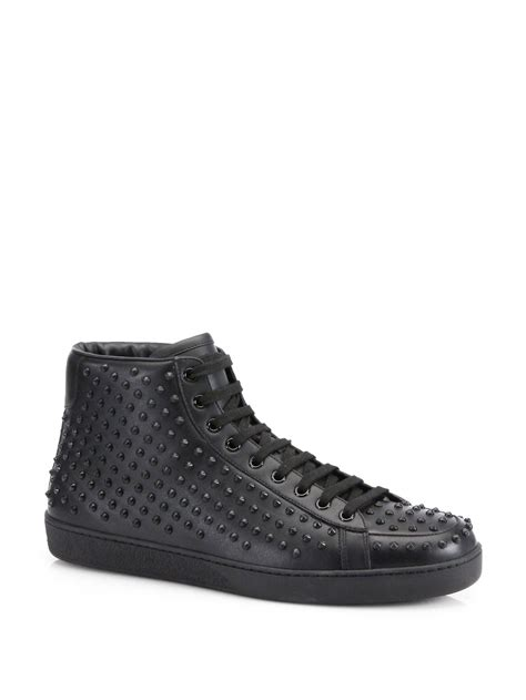 Gucci Brooklyn Studded Sneaker