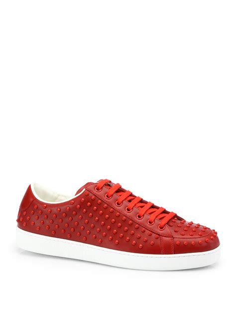 Gucci Brooklyn Studded Sneakers