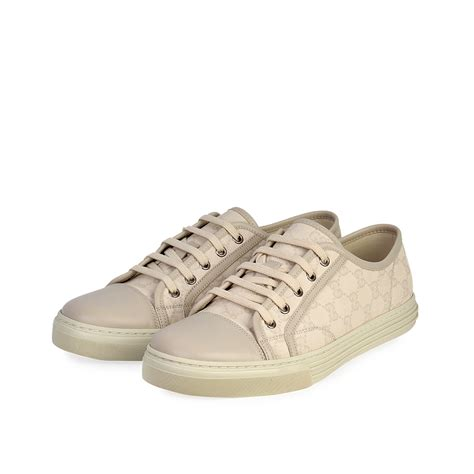 Gucci Canvas Low-top Sneaker White