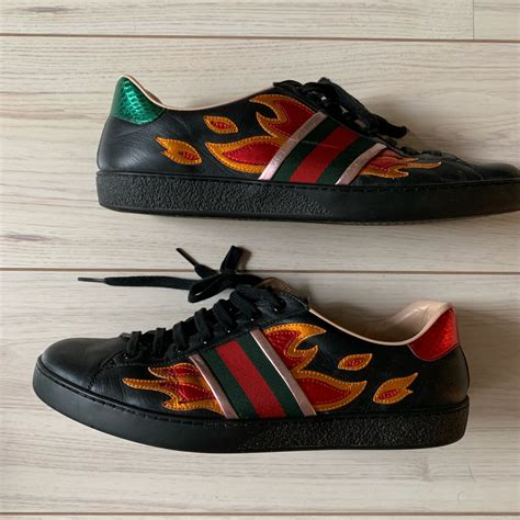 Gucci Flame Sneakers Fake