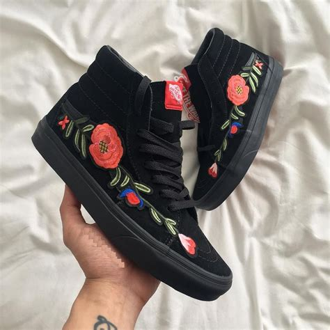 Gucci Flower Patch Sneakers