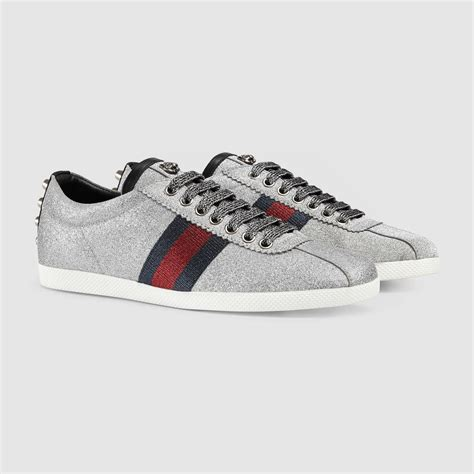 Gucci Glitter Sneakers Womens