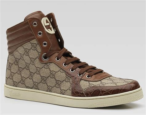 Gucci High Top Interlocking G Sneakers