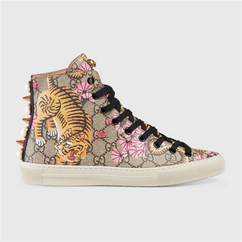Gucci High Top Sneakers Womens