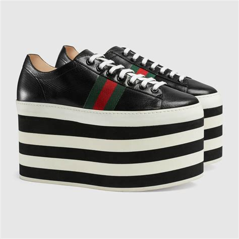 Gucci Inspired Platform Sneakers