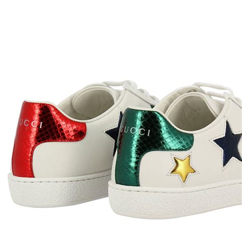 Gucci Inspired Sneakers White